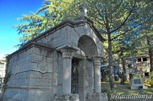 Cardedeu - Panteó família Arquer-Morató (Cementiri municipal)
