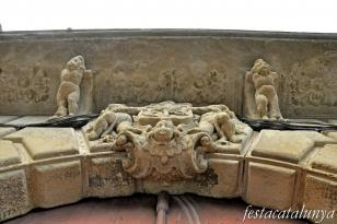 Castellterçol - Palau dels marquesos d'Alòs o Taiadella, can Dou