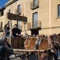 Festa de Sant Antoni Abat. Cavalcada dels Tres Tombs a Castellterçol