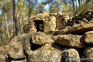 Castellolí - Barraques de pedra seca - Barraca del Rei Petit