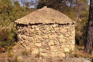 Castellolí - Barraques de pedra seca - Barraca del Camí del Roc Estret