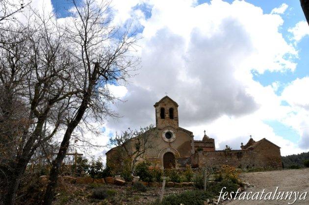 Castellolí - Església romànica de Sant Pere i Sant Feliu de la Vall d'Aguilera