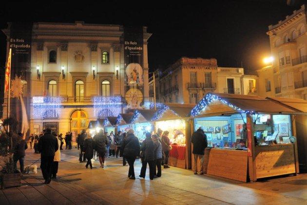 Igualada - Fira nadalenca al barri de la Font-Vella i nucli antic