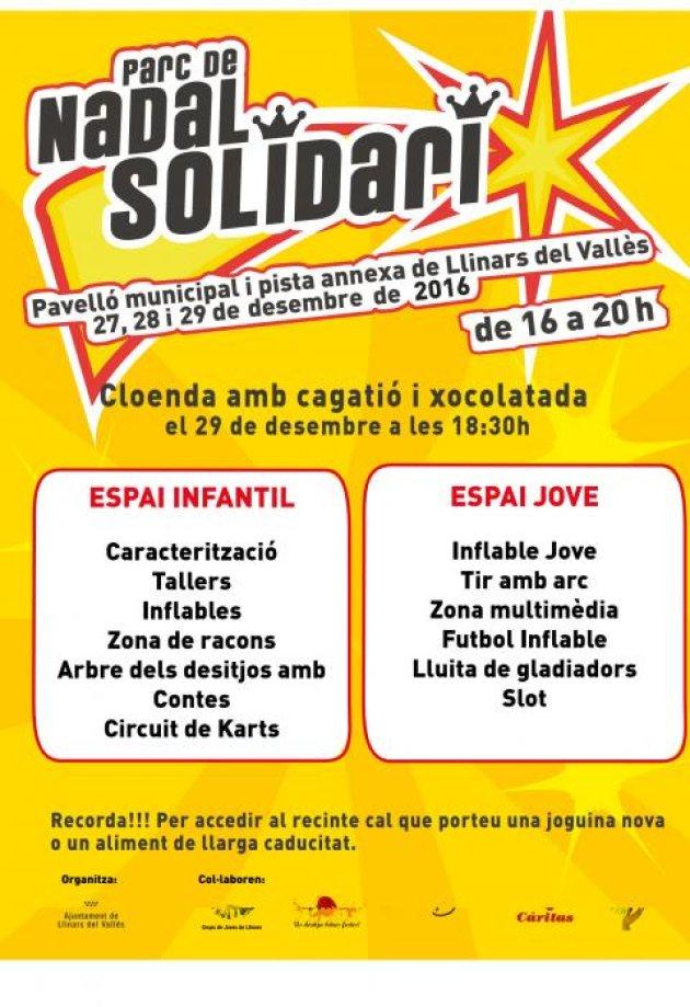 Llinars del Vallès - Parc de Nadal Solidari