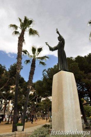 Blanes - Escultura El Frare