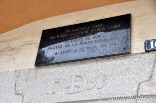 Blanes - Casa Ruyra