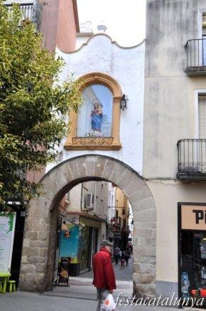 Blanes - Portal de la Verge Maria