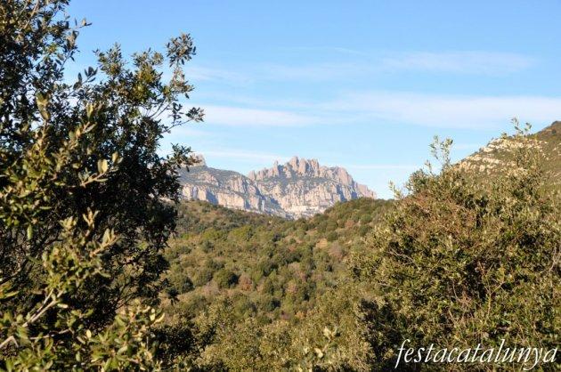 Olesa de Montserrat - Vistes panoràmiques des de Sant Pere Sacama
