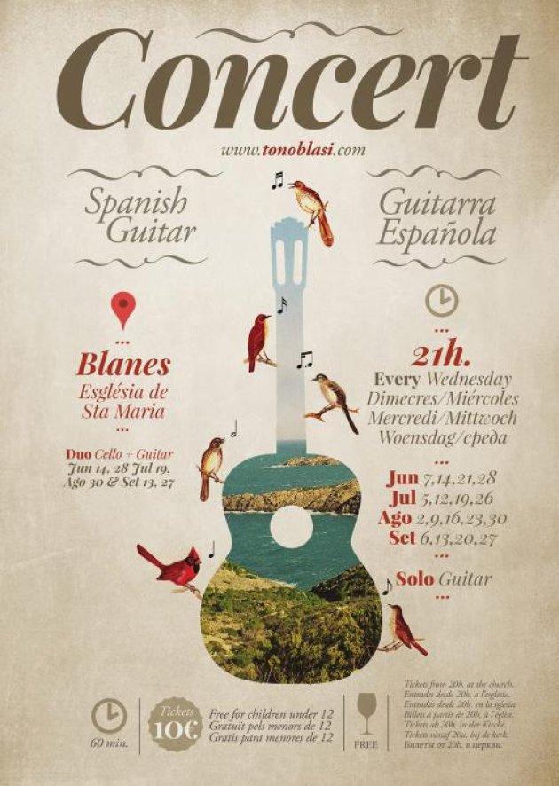 Blanes - Concert de Guitarra Espanyola