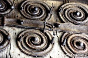 Maçanet de Cabrenys - Església de Sant Martí - Porta romànica