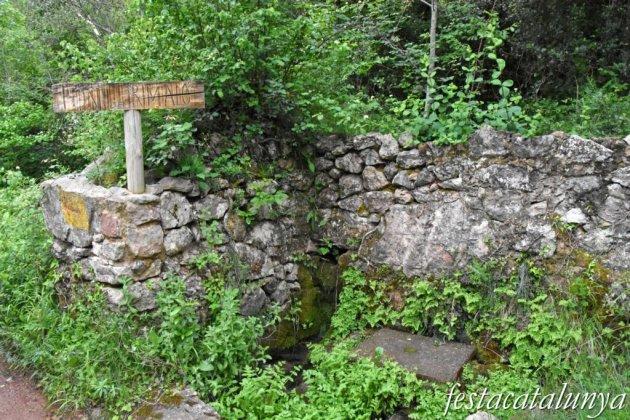 Maçanet de Cabrenys - Sant Miquel de Fontfreda - Font del Rimaló