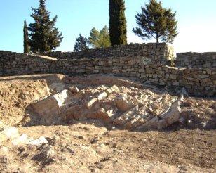 Sallent - Jaciment Ibèric del Cogulló (Foto: Ajuntament de Sallent)