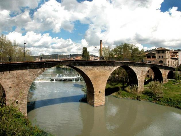 Sallent - Pont del Batlle Pere Otger (Foto: Ajuntament de Sallent)