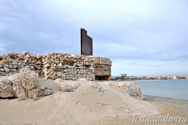 Vila-seca - Grup escultòric Marca d'Aigua de Sergi Aguilar a la Pineda