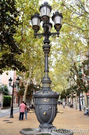 L'Hospitalet de Llobregat - Rambla Just Oliveras (Font de Canaletes)