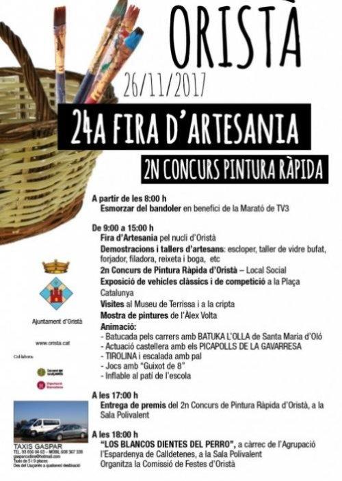 Oristà - Fira d'Artesania