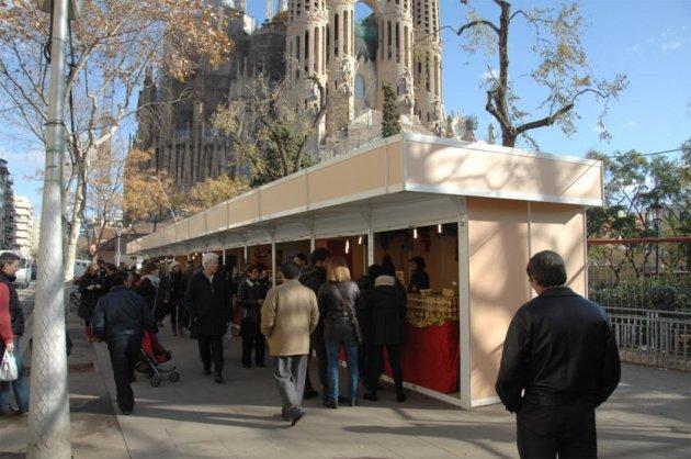 Barcelona - Fira de Nadal a la Sagrada Família