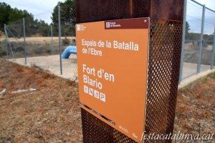 Batea - Fort d'en Blarió (Espais de la Batalla de l'Ebre)