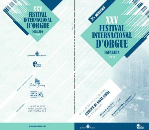Igualada - Festival Internacional d'Orgue