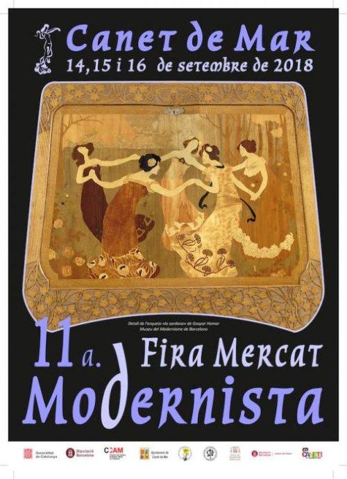 Canet de Mar - Fira Mercat Modernista