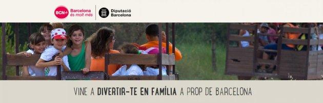 Vine a divertir-te en família a prop de Barcelona
