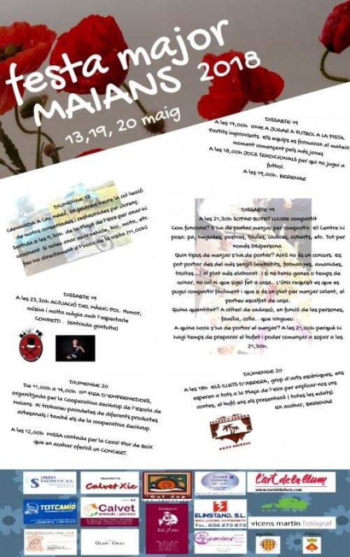 Castellfollit del Boix - Festa Major de Primavera de Maians