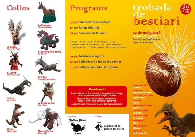 Llinars del Vallès - Trobada de Bestiari
