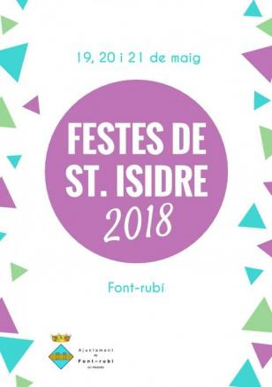 Font-rubí - Festes de Sant Isidre