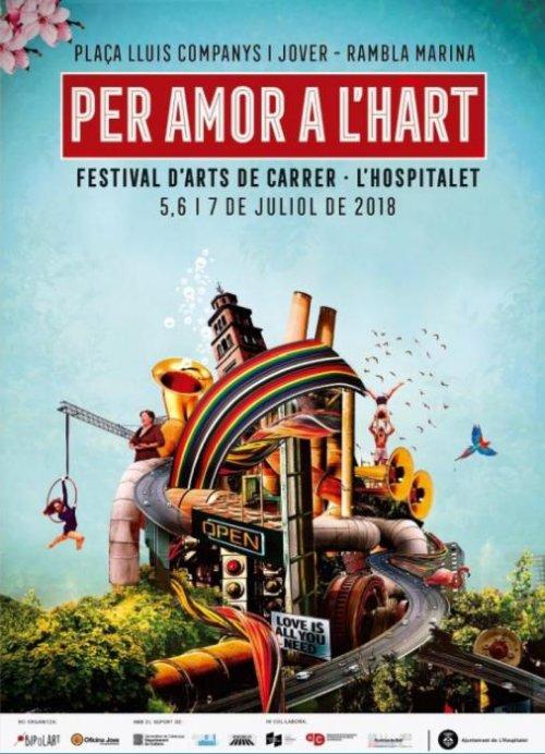 L'Hospitalet de Llobregat - Per Amor a l'Hart, Festival d'Art de Carrer