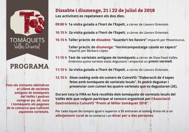 Santa Eulàlia de Ronçana - Fira del Tomàquet del Vallès