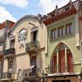 Cases del carrer Pi i Margall de Molins de Rei