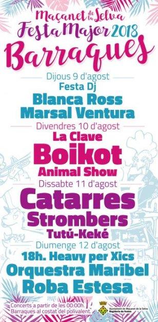 Maçanet de la Selva - Festa Major de Sant Llorenç