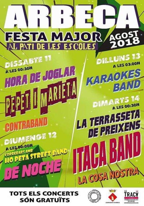 Arbeca - Festa Major
