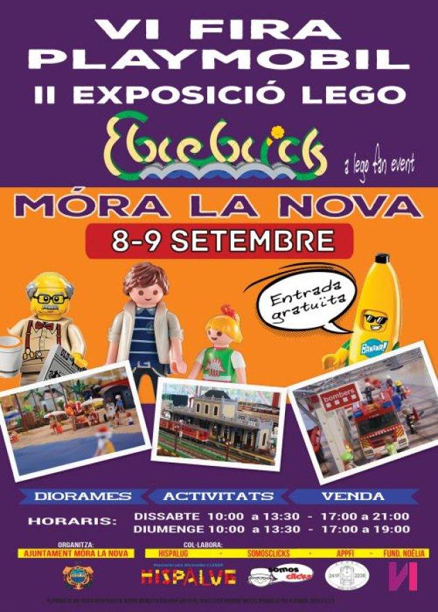 Móra la Nova - Fira Playmobil i Exposició Lego