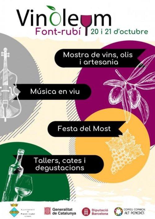 Font-rubí - Vinoleum, Mercat del Vi i de l'Oli