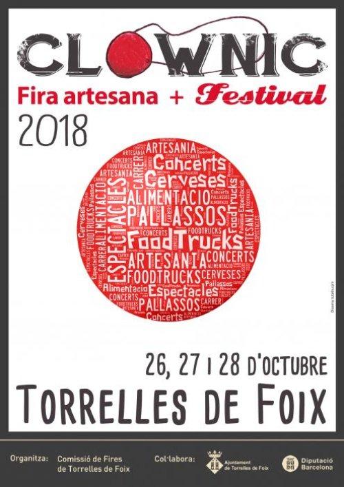 Torrelles de Foix - Fira Artesana i Festival Clownic