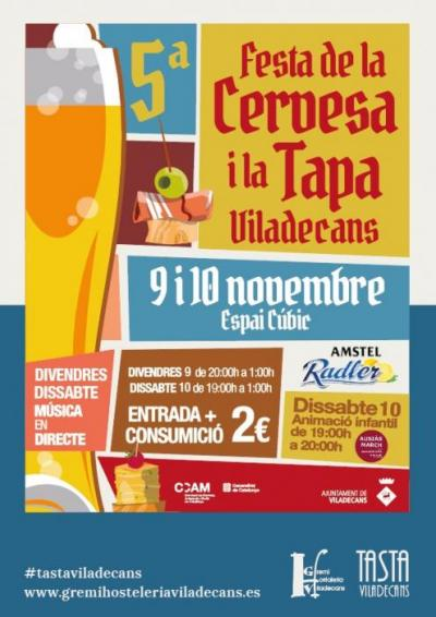 Viladecans - Festa de la Cervesa i la Tapa