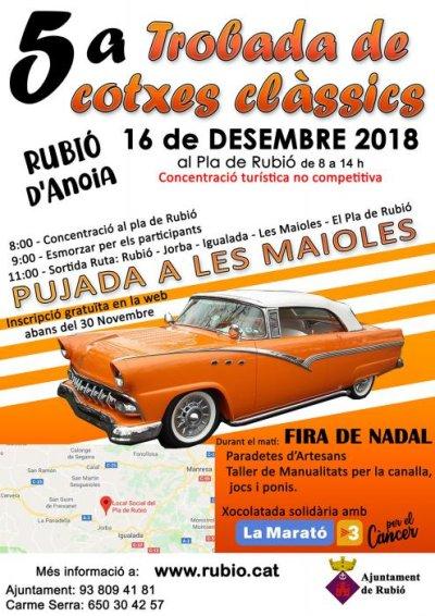 Rubió - Trobada de Cotxes Clàssics