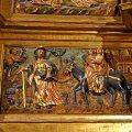 Retaule barroc a l'altar major de la Mare de Déu dels Àngels