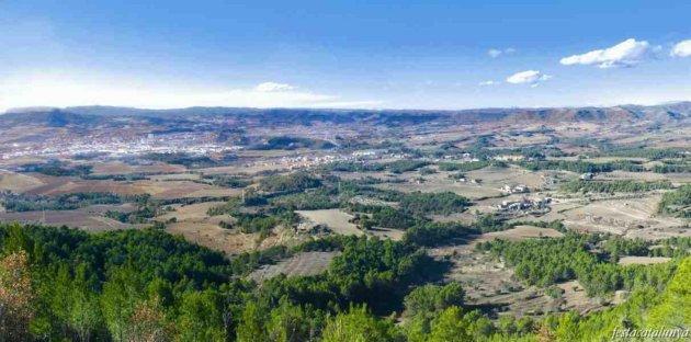 Òdena - Vista panoràmica des del puig d'Aguilera