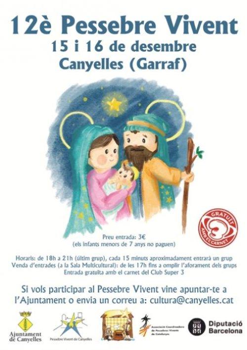 Canyelles - Pessebre Vivent