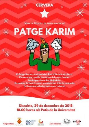 Cervera - Patge Karim