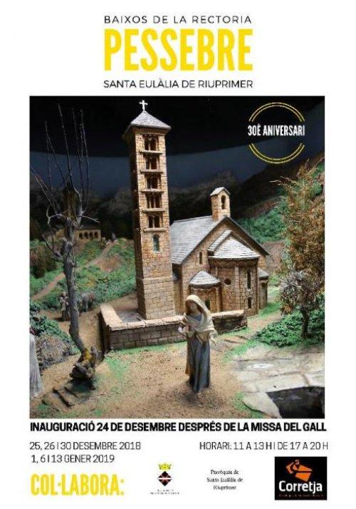 Santa Eulàlia de Riuprimer - Pessebre Monumental