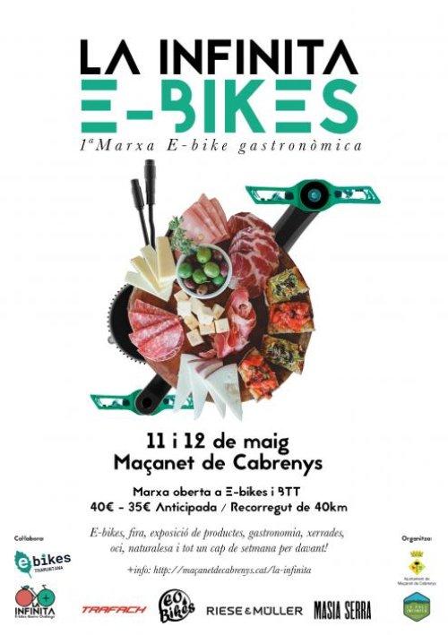Maçanet de Cabrenys - La Infinita, Marxa E-Bikes