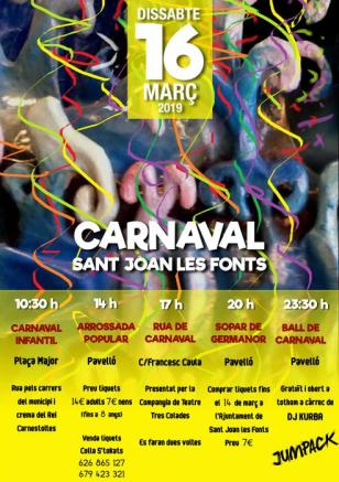 Sant Joan Les Fonts - Carnaval