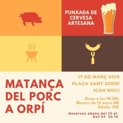 Orpí - Festa de la Matança del Porc