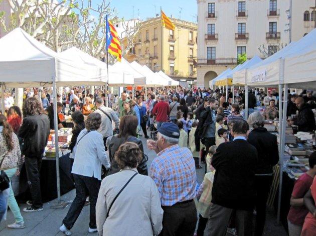 Mataró - Fira del Llibre de Sant Jordi (Foto: Ajuntament de Mataró)