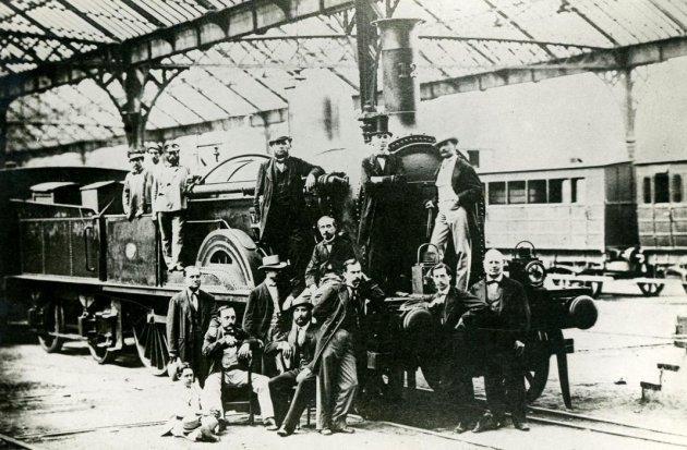 Mataró - Miquel Biada. El primer ferrocarril (Foto: Ajuntament de Mataró)