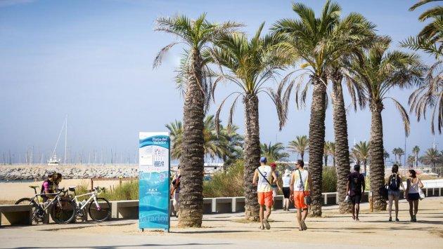 Mataró - Les Platges. Una ciutat oberta al mar (Foto: Ajuntament de Mataró)