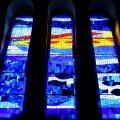 Vitralls de l'església de Sant Miquel Arcàngel de Molins de Rei ***